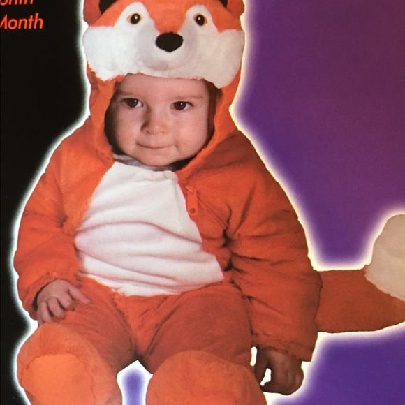 infant baby 0 6 mos fox halloween costume